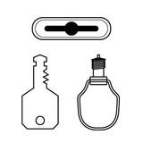 Cendrex Ring/tool key operated slam latch