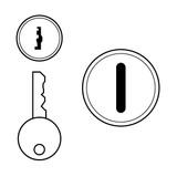 Cendrex Key Cylinder Cam Latch x 2 and Screwdriver Latch x 2 dollar26 5 days