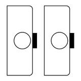 Cendrex 2 x Mortise Deadbolt Locks no cylinder dollar252 5 days