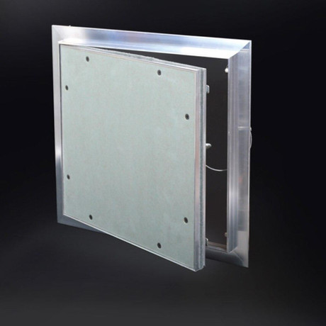 Cendrex 18 x 18 - Recessed ½ Aluminum Access Door with Hidden Flange - Cendrex