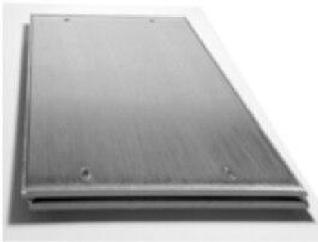 Karp 18 x 18 Aluminum Floor Access Panels Flush Smooth Plate - Karp