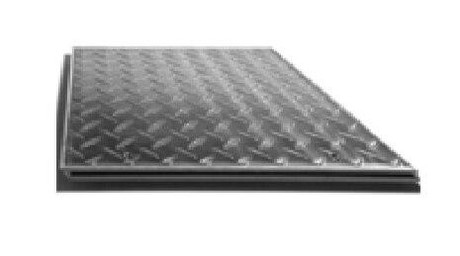 Karp 18 x 18 Aluminum Floor Access Panels Flush Diamond Plate - Karp