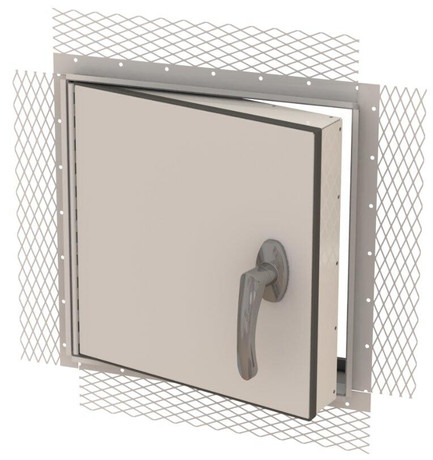 JL Industries 18 x 18 Weather-Resistant Exterior Access Panel For Plaster And Stucco - JL Industries