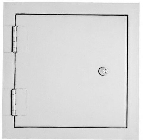 JL Industries 14 x 14 High Security 7 Gauge Access Panel For Detention Applications - JL Industries