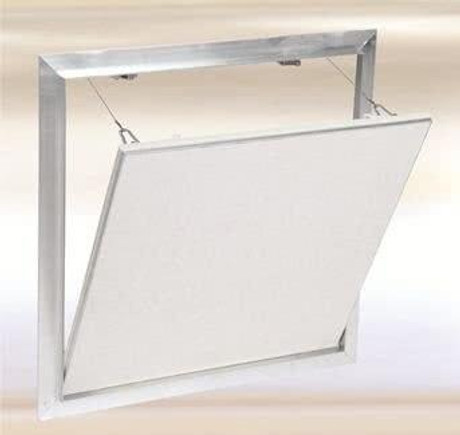 FF Systems .8 x .8 Drywall Inlay Access Panel with Fully Detachable Hatch