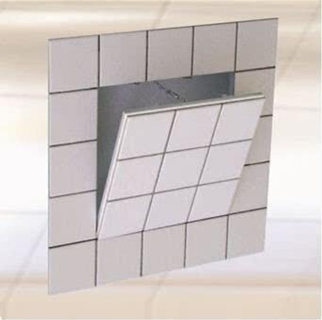 FF Systems 24 x 24 Drywall Inlay Access Panel for Tiling