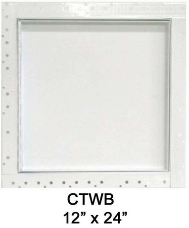 12 x 24 Concealed Frame Flush Access Panel - Wallboard Insert