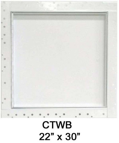 22 x 30 Concealed Frame Flush Access Panel - Wallboard Insert