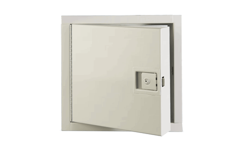 Karp Karp KRPP2424RCNL KRP-150FR 24x24 Fire Rated Access Door Cylinder Lock