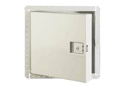 Karp Karp KRPPDW3030RCNL KRP-350FR 30x30 Fire Rated Access Door Rim Cylinder Lock