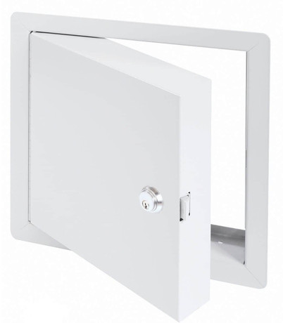 Cendrex .8 x .8 - High Security Fire Rated Insulated Access Door with Flange