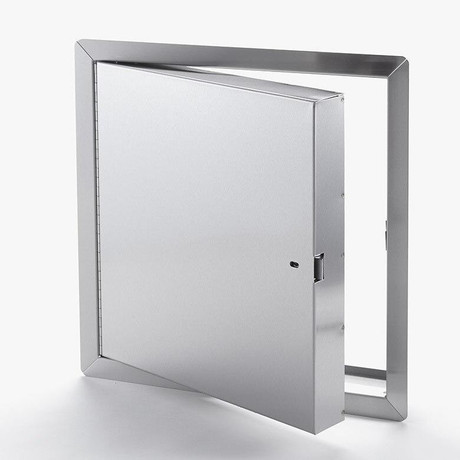 Cendrex 48 x 48 - Fire Rated Insulated Access Door with Flange - Stainless Steel