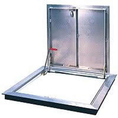 Bilco 24 x 24 - Type K Aluminum Floor Hatch - WB