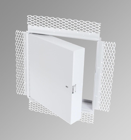 Cendrex .8 x 8 - Fire Rated Insulated Access Door with Plaster Flange - Cendrex