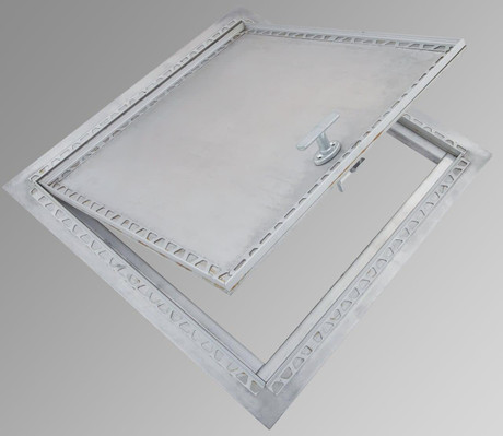Cendrex 24 x 36 Recessed Aluminum Floor Hatch - Cendrex