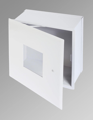 Cendrex 12 x 12 Valve Box with Window and Hidden Flange - Cendrex
