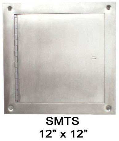 JL Industries 12 x 12 Surface-Mount Access Panel - Interior Walls and Ceilings - Stainless Steel