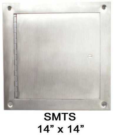 JL Industries 14 x 14 Surface-Mount Access Panel - Interior Walls and Ceilings - Stainless Steel