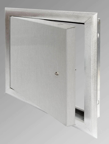 JL Industries 16 x 16 Surface-Mount Access Panel - Interior Walls and Ceilings - Stainless Steel
