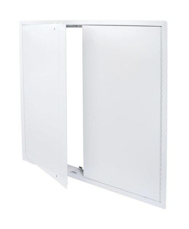 Cendrex 48 x 48 Heavy Duty Double Leaf Access Door for Large Openings with Exposed Flange - Cendrex