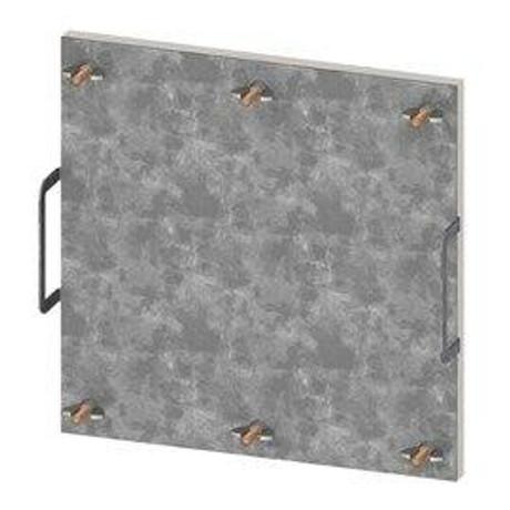 Elmdor 7 x 20 Grease Duct Doors - Elmdor