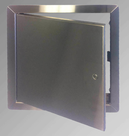 Cendrex .8 x 12 General Purpose Access Door with Flange - Stainless Steel - Cendrex