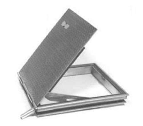 Karp 30 x 30 Standard Duty Hinged Floor Access Doors - Karp