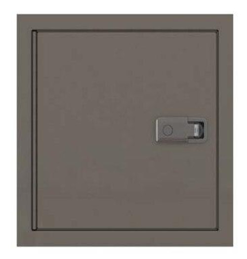 JL Industries 48 x 48 Super-insulated Exterior Access Panel - Stainless Steel - JL Industries
