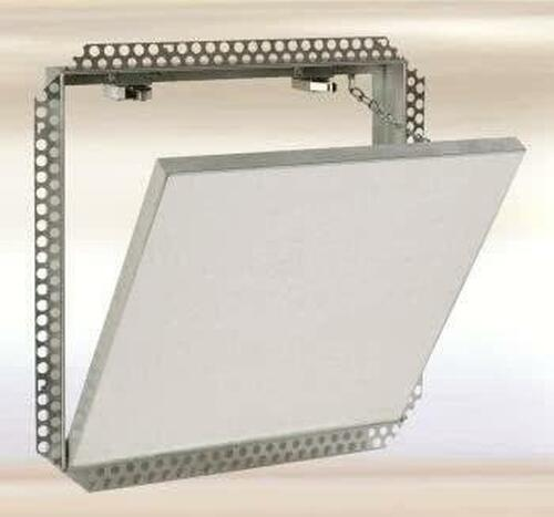 FF Systems .8 x .8 Drywall Inlay Access Panel with Drywall Flange - Detachable