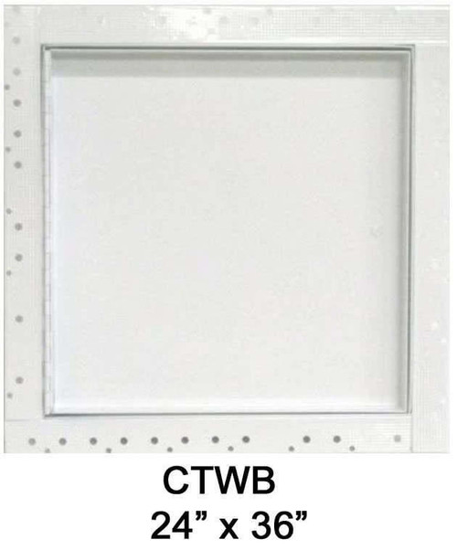 24 x 36 Concealed Frame Flush Access Panel - Wallboard Insert
