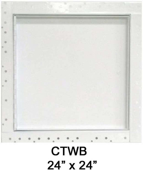24 x 24 Concealed Frame Flush Access Panel - Wallboard Insert