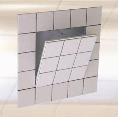 FF Systems .8 x .8 Drywall Inlay Access Panel for Tiling