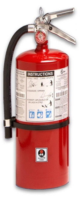JL Industries 5 lb - Cosmic Extinguisher - Multi-Purpose Dry Chemical with Mark Bracket