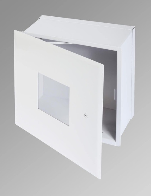 Cendrex .8.25 x 8.25 Valve Box with Window and Hidden Flange