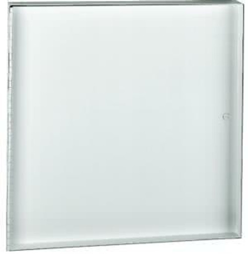 JL Industries 18 x 18 CT - Concealed Frame Access Panel with Recessed Door for Acoustical Tile or Wallboard Insert - JL Industries