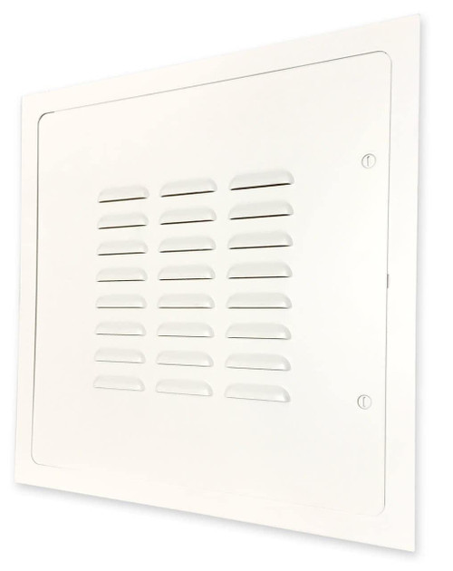 Acudor 24 x 24 Louvered Access Door with Flange - Acudor