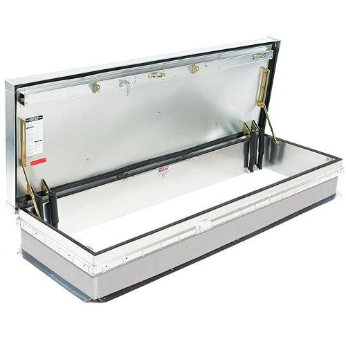 Bilco 30 x 96 - Thermally Broken - Service Stair Access Roof Hatch - Aluminum