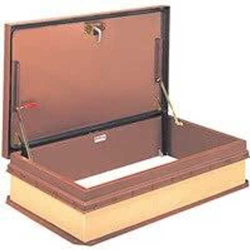 Bilco 30 x 54 Steel Cover and Frame - Roof Hatch - Ship Stair Access - Miami Dade Approved