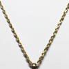 14k 2.8mm Singapore Chain to wear with BioElectric Shield EMF blocker pendant