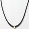 2.2 mm leather cord to Wear with EMF Blocking Pendant Bioelectric Shield