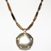 Confident Balanced focus Beaded Chain - tiger-eye and smoky quartz