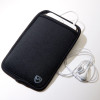 SYB Vertical Pouch for Cell phone EMF Protection - shown with headset -