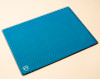 Aquamarine Blue SYB laptop pad provides shielding - RF shielding from Wifi and bluetooth, ELF from AC power charger, heat