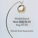 Stand for Level 1 Room Shield for babies, children, offices, media rooms - may also be used with other level shields as well.