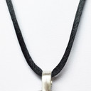 Black Satin cord to wear with bioelectric Shield