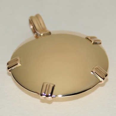 Level 1 - EMF Blocker BioElectric Shield - all brass polished. Best as a starter Shield or for children or as a Room Shield