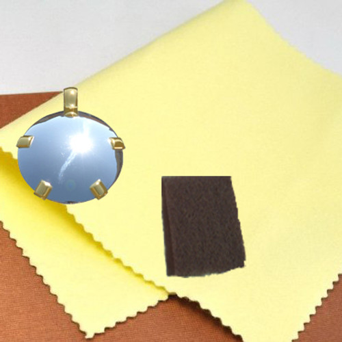Sunshine Cloth is the best polishing cloth for jewelry according to one of the biggest jewelry distributor  in the world. We have used it for 27 years...
