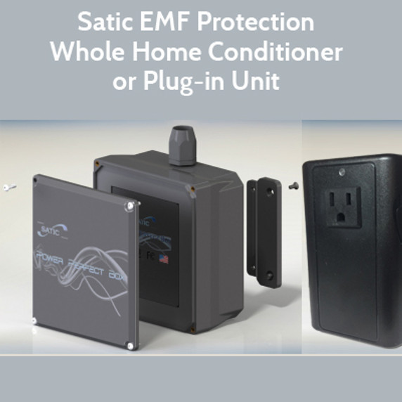 Reduce Radiation in your Work and Living Spaces - Satic Products