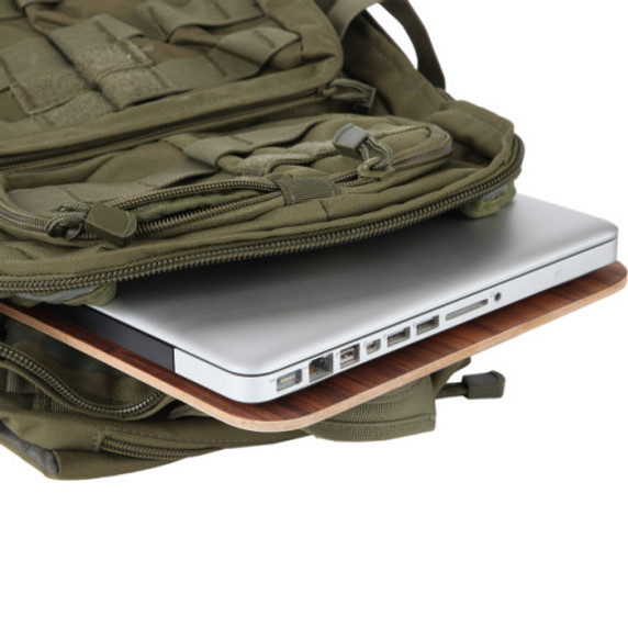 Laptop EMF Protection Pad blocks EMF from bottom of your laptop and from WiFi. Black Plastic using Root technology safe, natural, organic