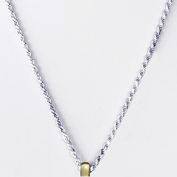 Sterling silver. 925 rope chain